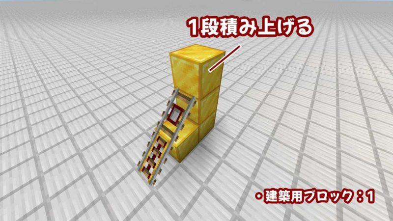 建築用ブロックを積み上げる