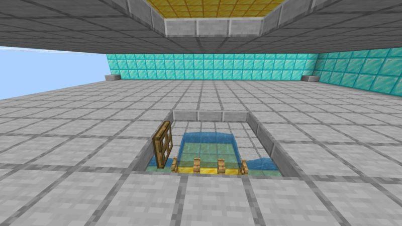二層目のトラップドア