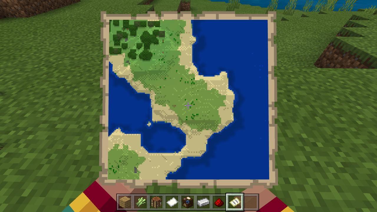 地図 縮小 マイクラ