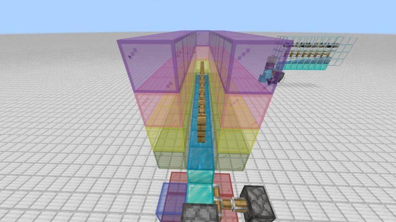 1ブロック幅の空間
