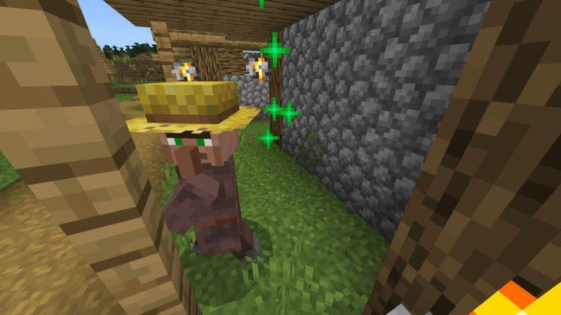 農民に転職する村人