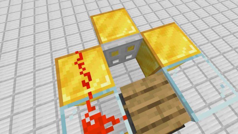 鉄のトラップドアの開き方