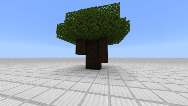 ダークオークの巨木