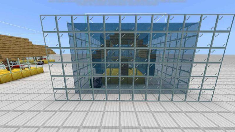 水中の建物