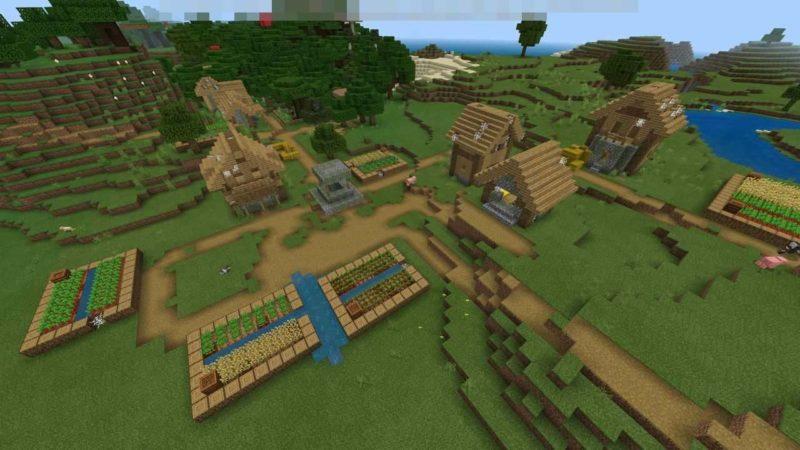 放棄された村