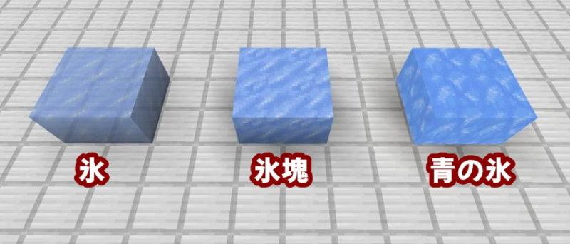 氷・氷塊・青の氷