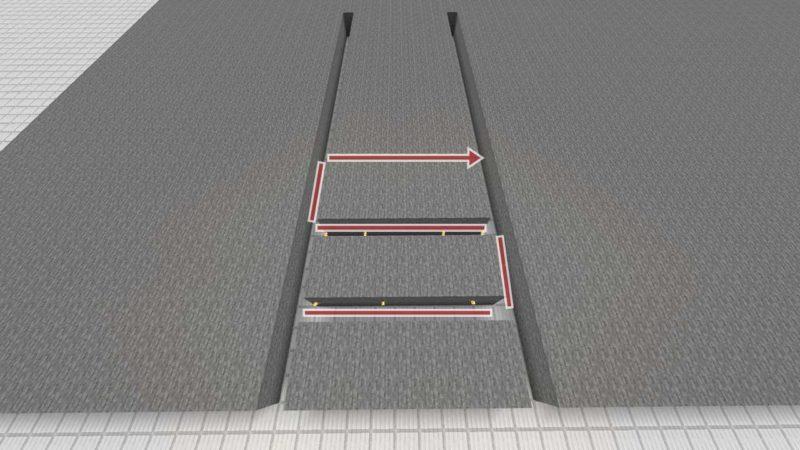 軸が2本のパターン