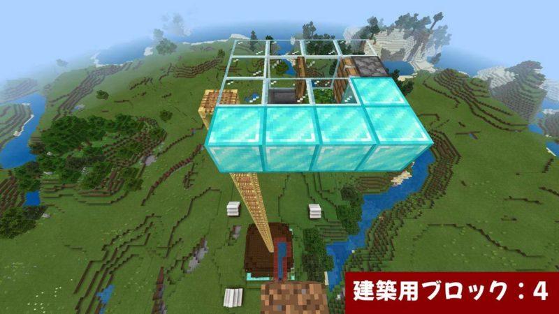 建築用ブロックを広げる