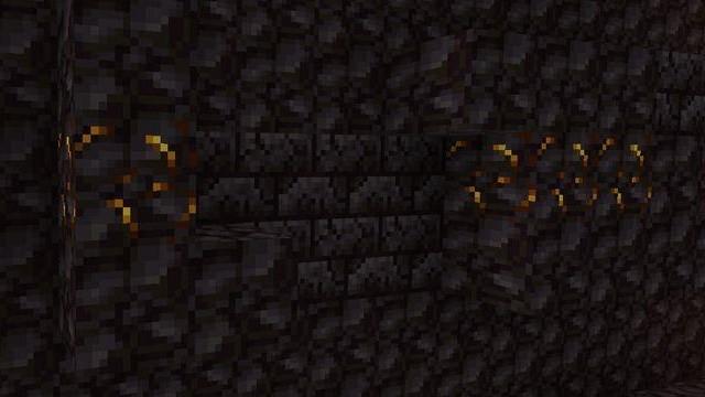 金色のブロックストーン