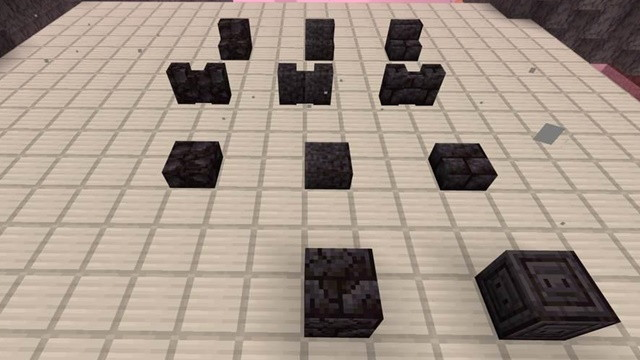 ブラックストーンでクラフトできるブロック