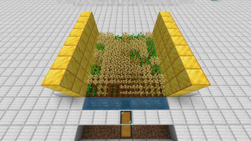 小麦収穫機