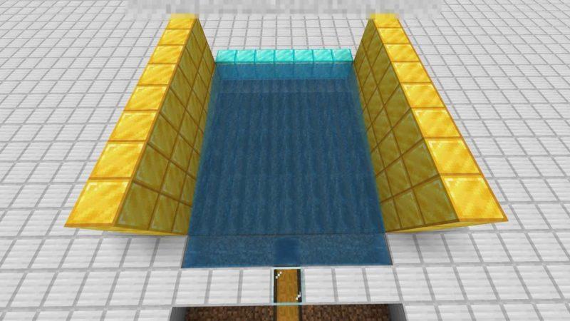 綺麗に回収できる水流